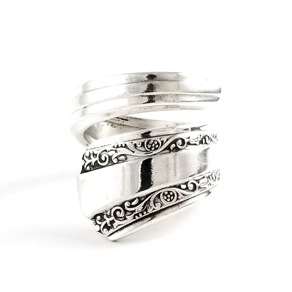 Rogers DeLuxe Gracious Bypass Spoon Ring by Midnight Jo