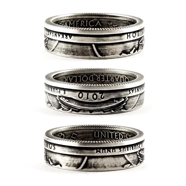 90% Silver Hot Springs National Park Coin Ring by midnight jo