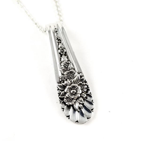 WM Rogers Jubilee Spoon Necklace by Midnight Jo