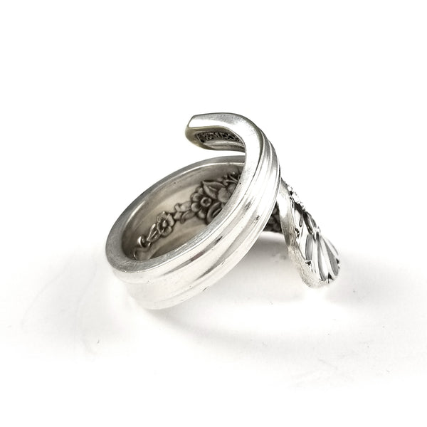 Wrap Around Rogers Jubilee Spoon Ring by midnight jo