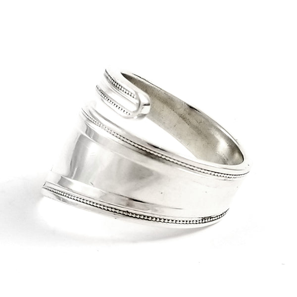 Whiting King Albert Sterling Silver Wrapped Spoon Ring by Midnight Jo