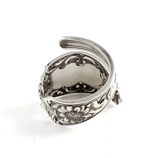 Antique Sterling Silver Kansas Souvenir Spoon Ring by Midnight Jo