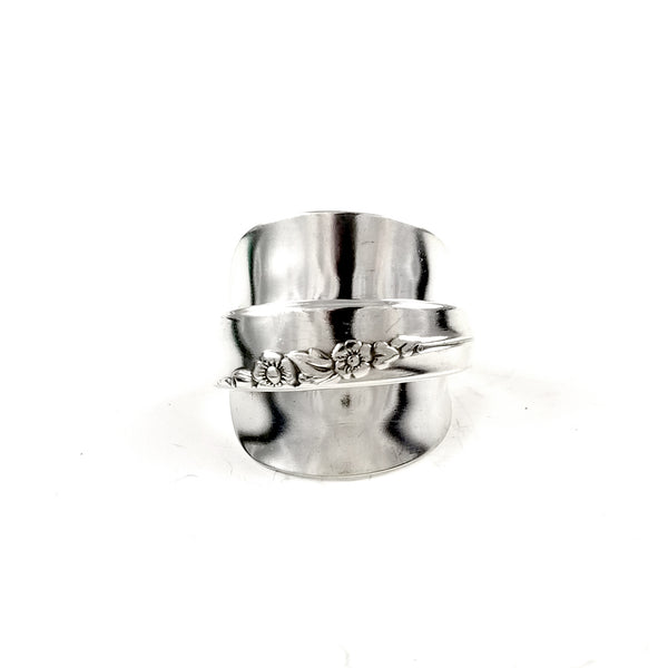 Lilac Time Demitasse Spoon Ring by Midnight Jo