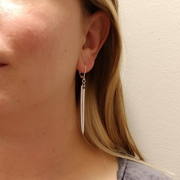Fork Tine Dangle Earrings by midnight jo