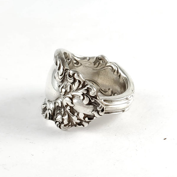 Wallace Lucerne Sterling Silver Spoon Ring by Midnight Jo ornate