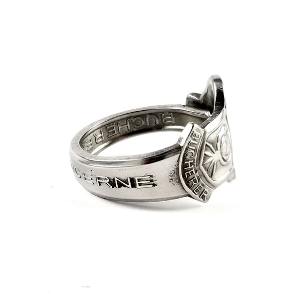 Rolex Lucerne Stainless Steel Spoon Ring by Midnight Jo