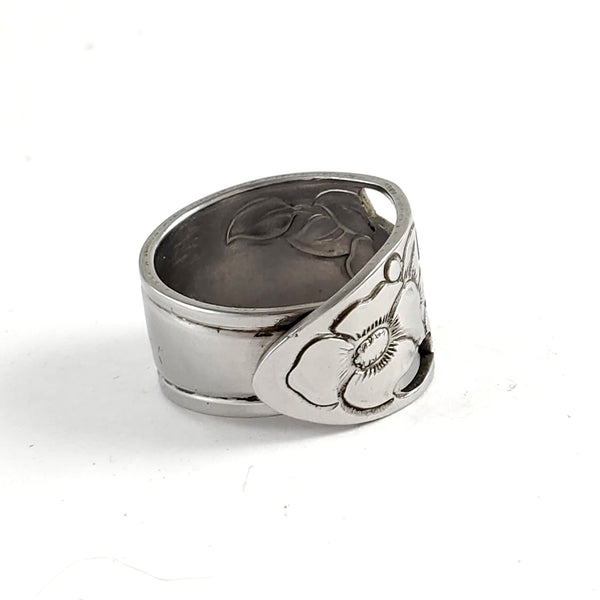Vintage Maytime Stainless Steel Spoon Ring by Midnight Jo