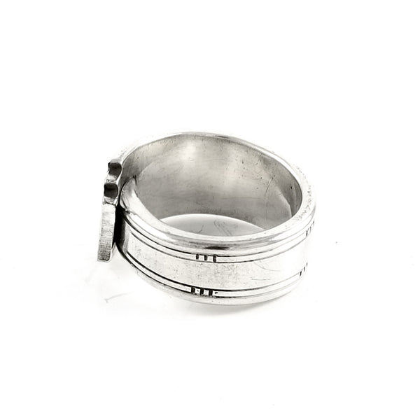 Oneida Friendship Medality Spoon Ring by midnight jo