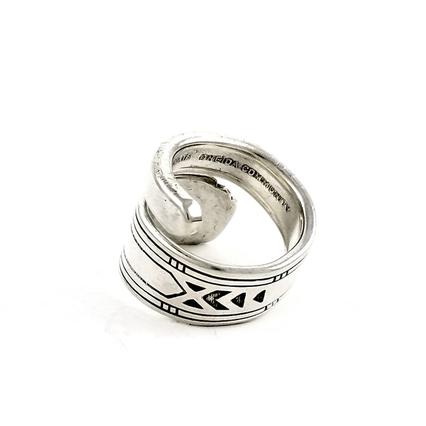 Oneida Friendship Medality Wrap Around Spoon Ring by Midnight Jo