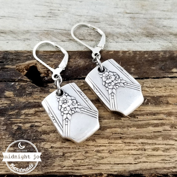 Oneida Milady Spoon Earrings