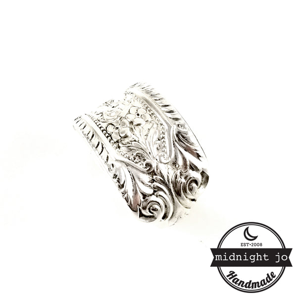 Westmorland Milburn Rose Sterling Silver Spoon Ring