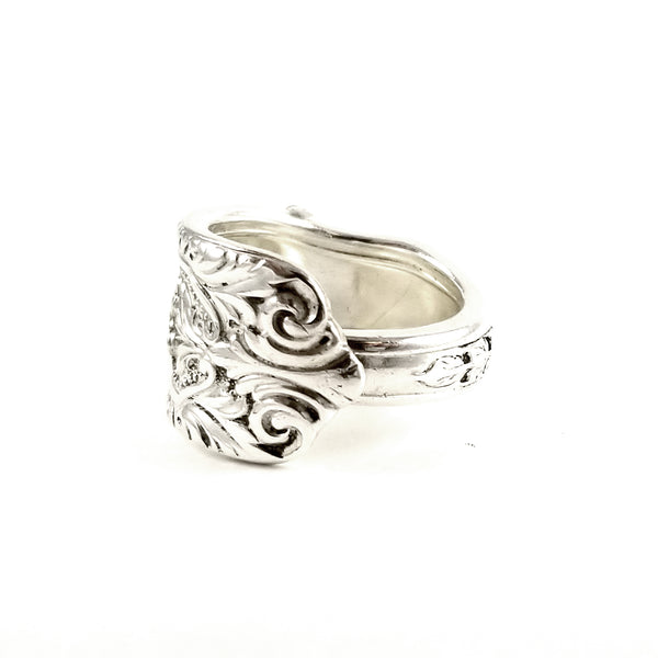Westmorland Milburn Rose Sterling Silver Spoon Ring by midnight jo