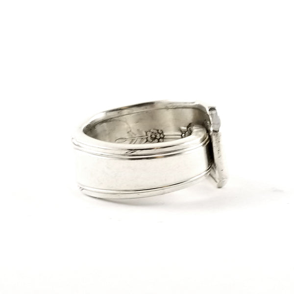 Oneida Milady Silverplate Spoon Ring by Midnight Jo