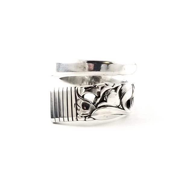 Oneida Morning Star Wrap Around Spoon Ring by Midnight Jo