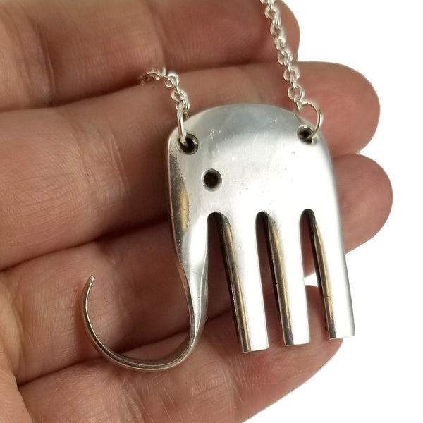salad fork elefork necklace by midnight jo