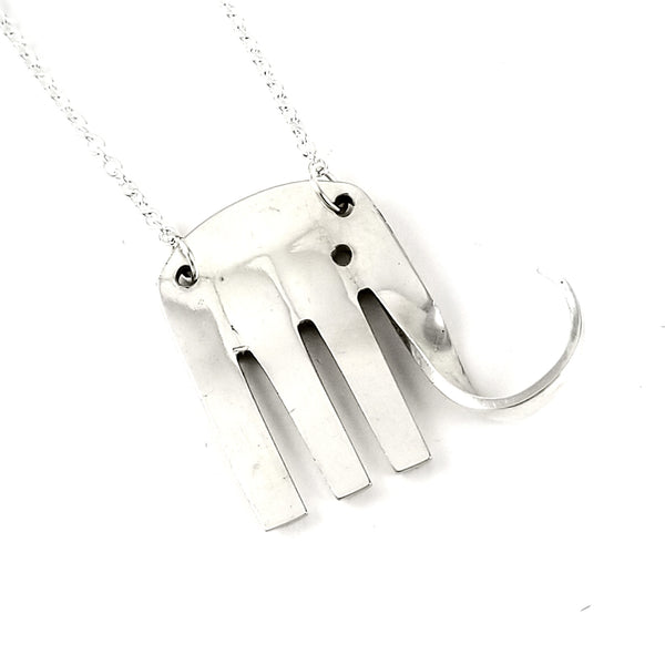 Oneida Morning Star Elephant Fork Necklace by midnight jo