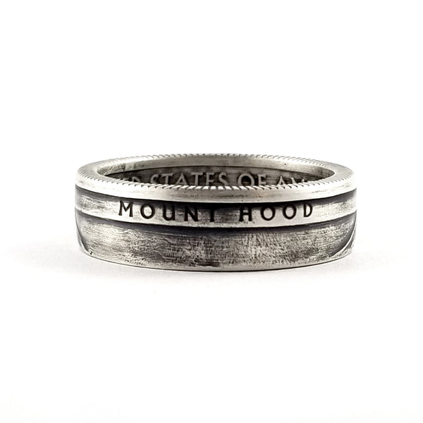 mount hood national park coin ring