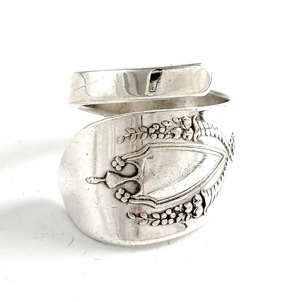 Lunt Mount Vernon Sterling Silver Wrap Around Spoon Ring by midnight jo