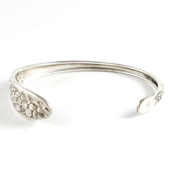 National Narcissus Thin Stacking Spoon Bangle by Midnight Jo