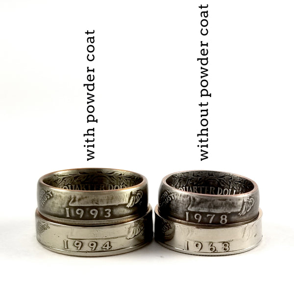 add powder coat to your midnight jo coin ring