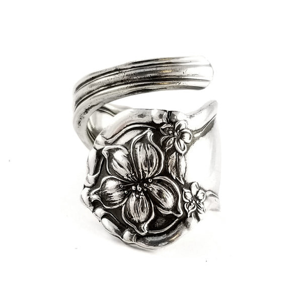 International Orange Blossom Wrap Around Spoon Ring by midnight jo