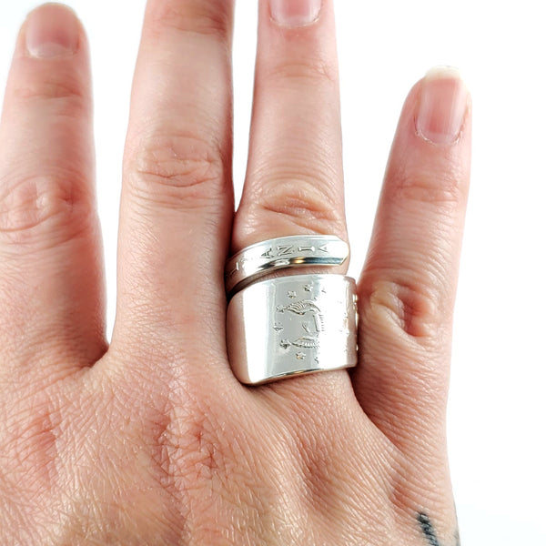 International Silver 13 Colonies Wrap Around Spoon Ring by Midnight Jo