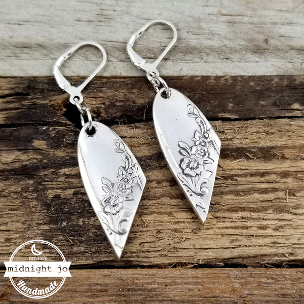 Queen Bess II Spoon Earrings