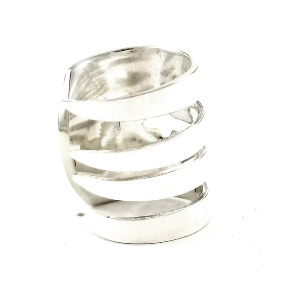 Queen Bess II Salad Fork Ring by midnight jo