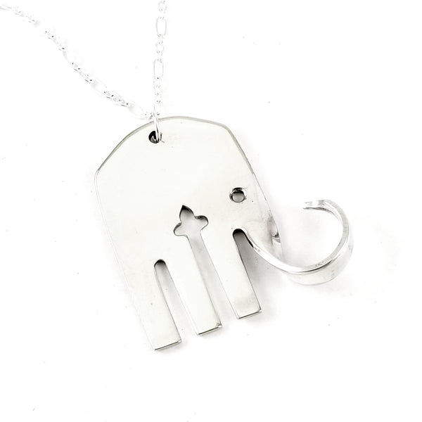 Oneida Queen Bess II Elephant Fork Necklace by midnight jo