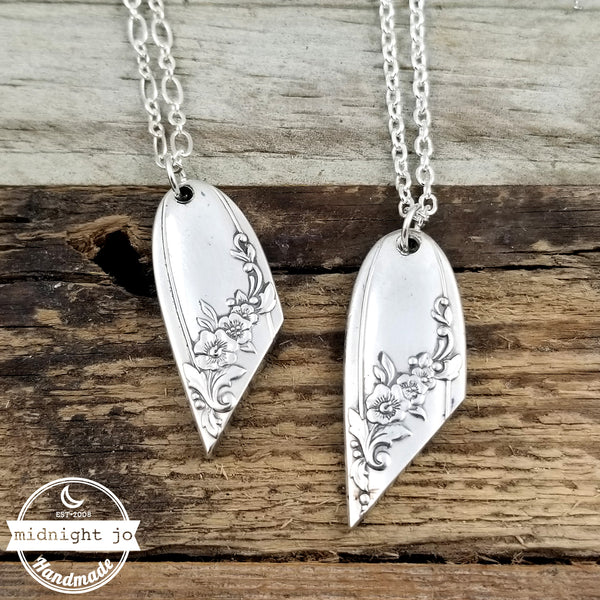 Queen Bess Spoon Necklace Pendant
