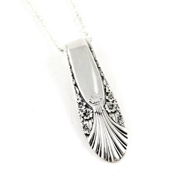 International Silver Radiance Spoon Necklace by Midnight Jo