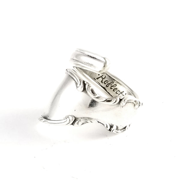 Rogers Reflection Wrap Around Spoon Ring by Midnight Jo