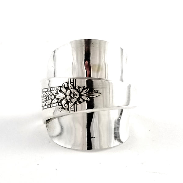 Oneida Romford Demitasse Spoon Ring by Midnight Jo