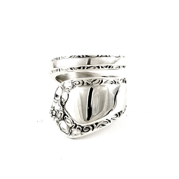 Easterling Rosemary Sterling Silver Wrapped Spoon Ring by Midnight Jo