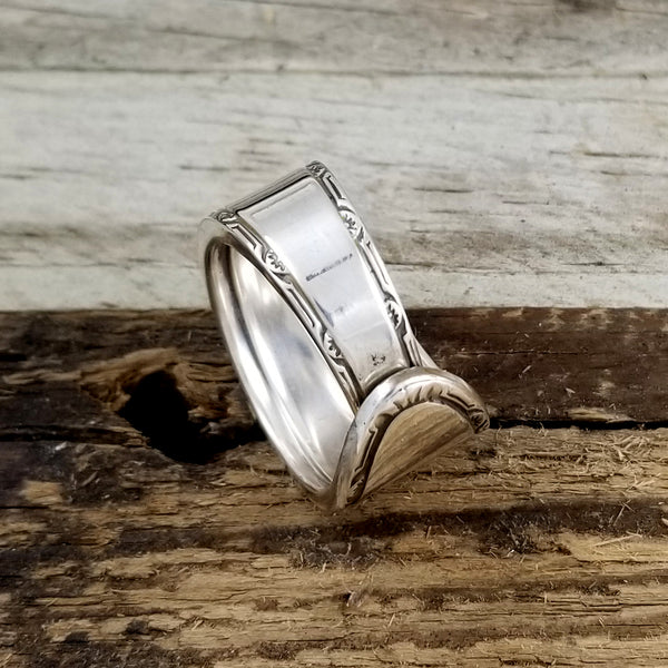 wide spoon ring