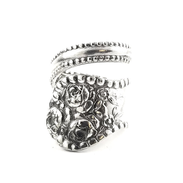 MH Meyer Shell Rose Wrap Around Spoon Ring by Midnight Jo