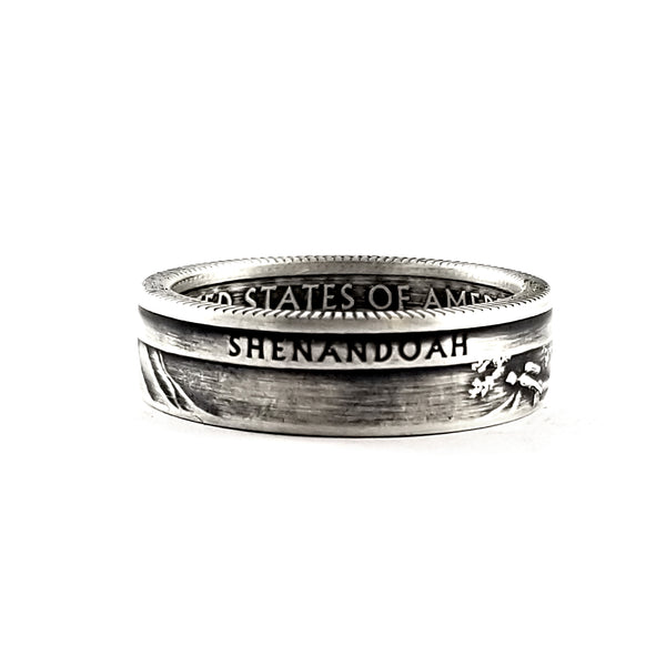 90% Silver Shenandoah National Park Quarter Ring by midnight jo