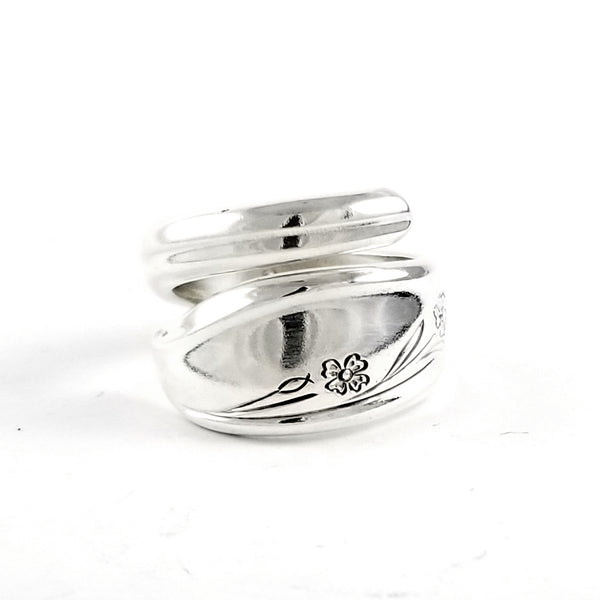 International Silver Springtime Wrap Around Spoon Ring by Midnight Jo