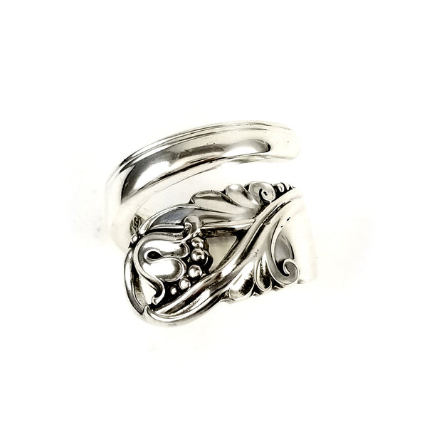 International Spring Glory Wrap Around Spoon Ring by midnight jo