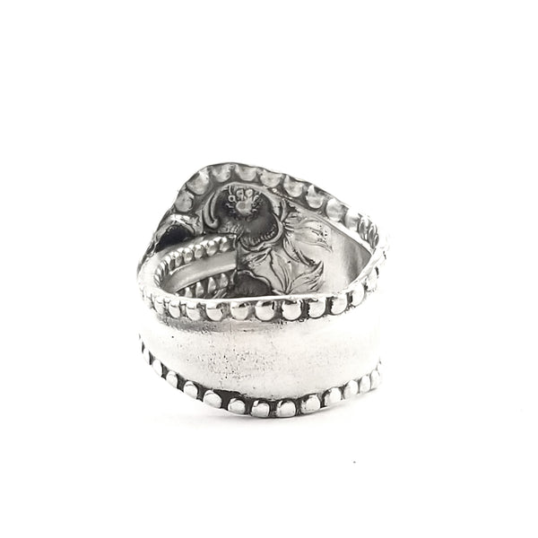 MH Meyer Shell Rose Spoon Ring by Midnight Jo