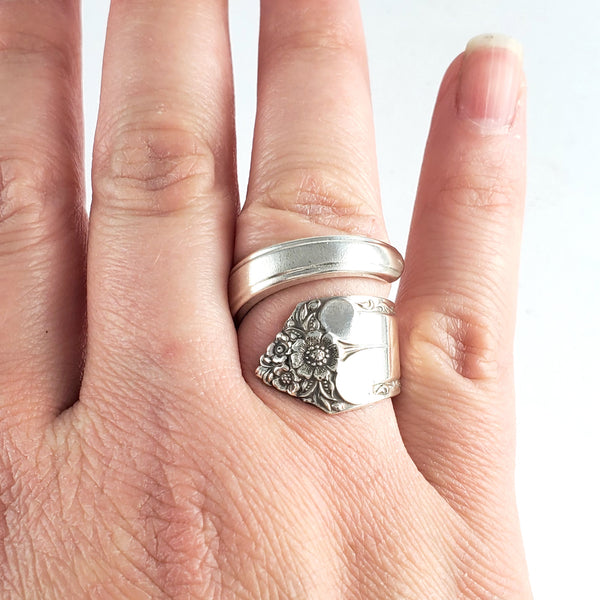 International Starlight Wrap Around Spoon Ring by Midnight Jo
