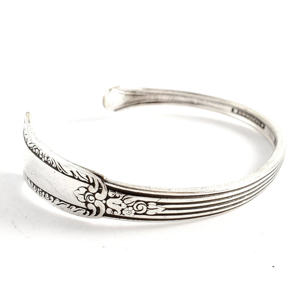 Rogers Treasure Thin Spoon Bangle by Midnight Jo
