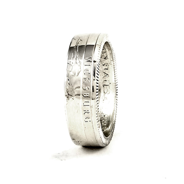 Vicksburg National Military Park Coin Ring by Midnight Jo