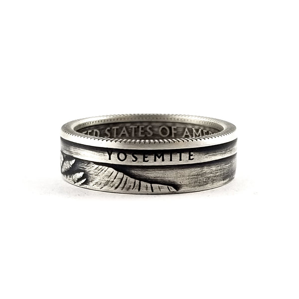 yosemite silver national park coin ring