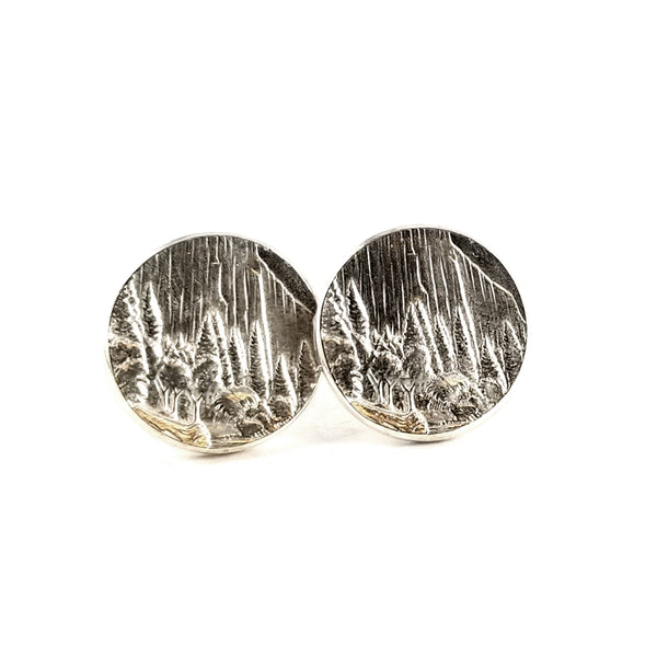 Yosemite National Park Coin Earrings by midnight jo