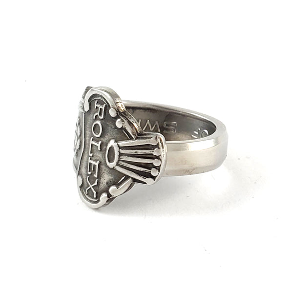 Rolex Tree Zürich Stainless Steel Spoon Ring by Midnight Jo