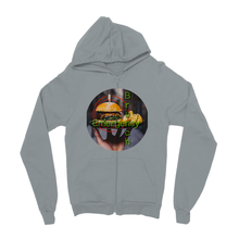 Brunch Emergency Kids Zip Hoodie