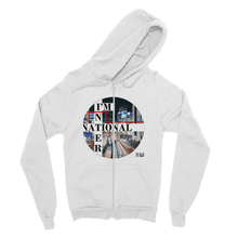Fine Jersey Zip Hoodie I'm International Print