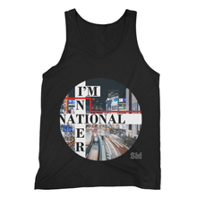 Fine Jersey Tank Top I'm International Print