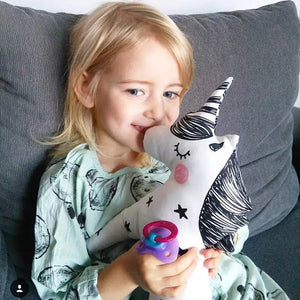 Unicorn Plush Pillow - Whimsical Co
